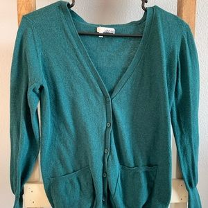 Cute button up sweater by Abound!